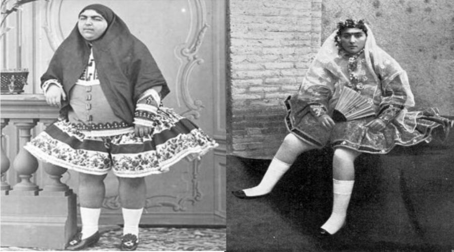 پوشاک زنان در دوره قاجار