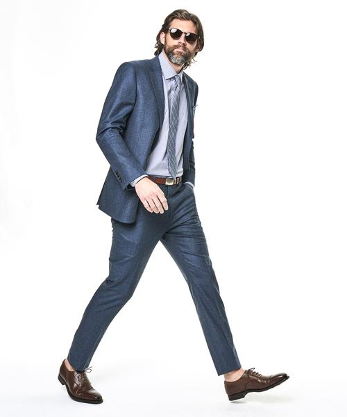 ست کردن کفش با رنگ کت و شلوار