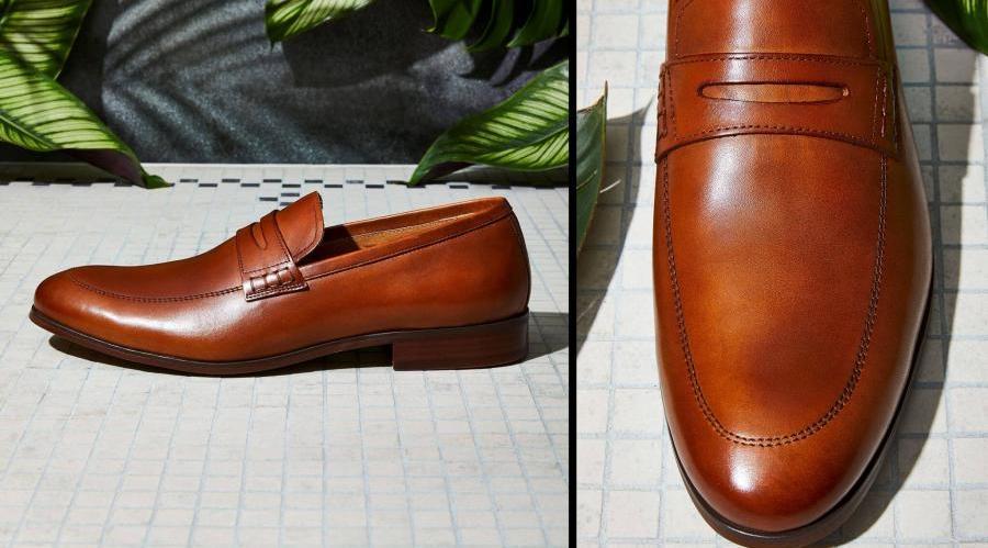 کفش مجلسی مردانه ایتالیایی قهوه ای