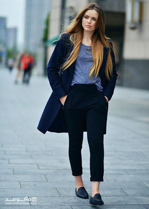 سبک پوشش کژوال دخترانه برای محیط کاری