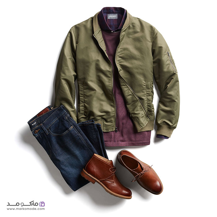 کفش قهوه ای مردانه را چی بپوشیم؟