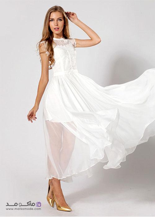 لباس سفید بلند