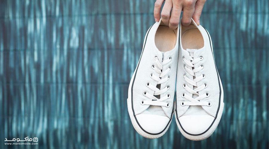 چطور کفش سفید را تمیز کنیم؟