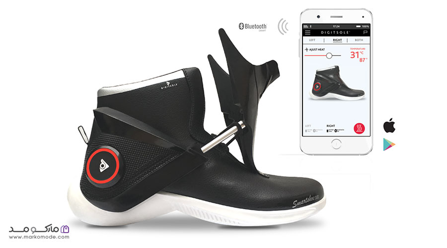 کفش هوشمند دیجیتسوله (Digitsole)