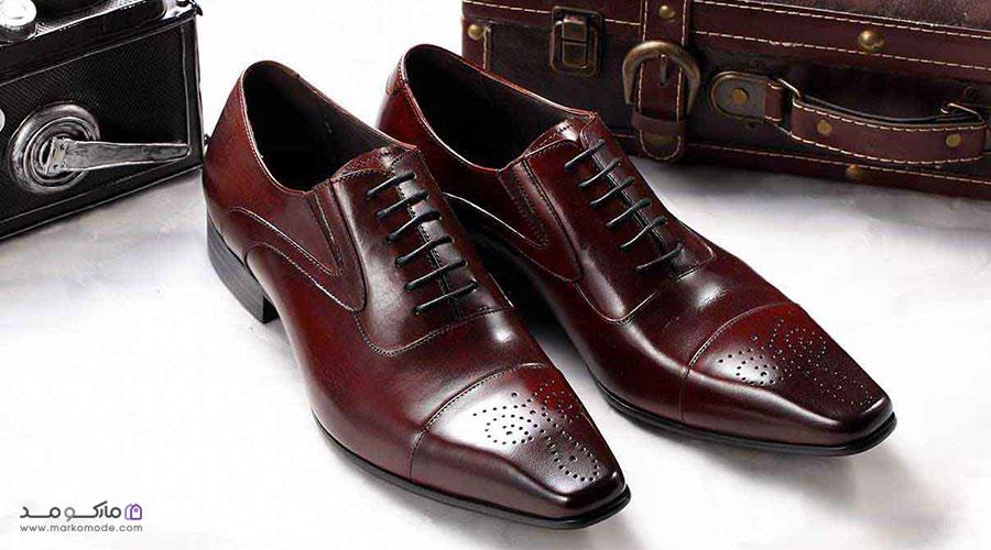 جنس و رنگ کفش آکسفورد