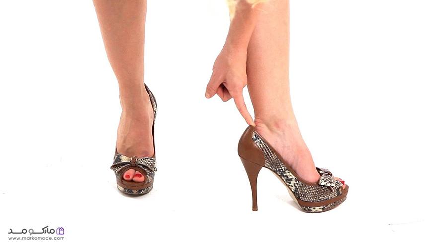 کفش مجلسی پاشنه بلند دخترونه