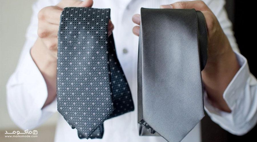 اهمیت انتخاب کراوات مناسب با کت و شلوار مردانه
