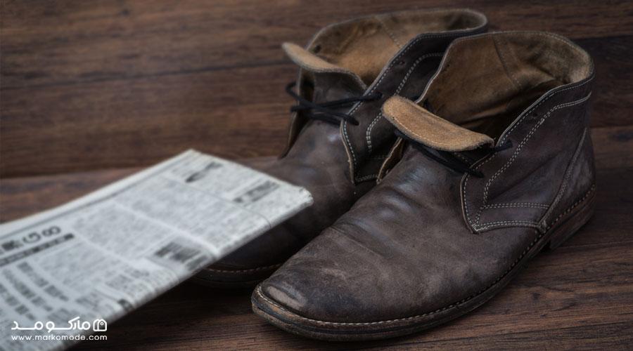 روشهای دیگر برای گشاد کردن کفش تنگ