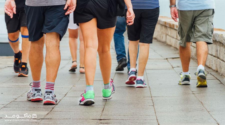اهمیت خرید کفش پیاده روی مردانه مناسب