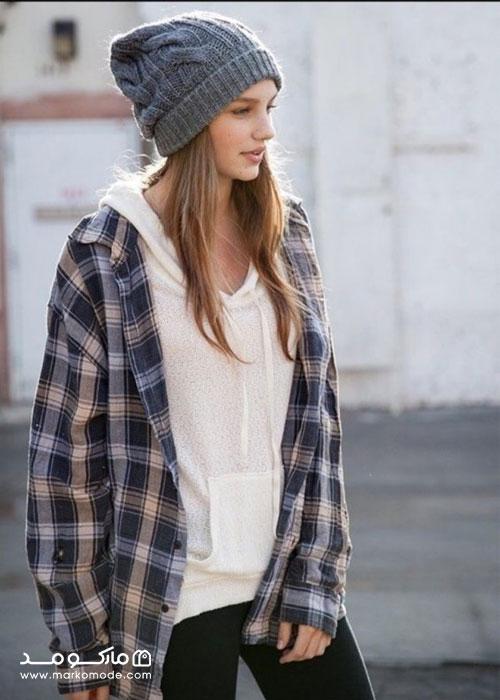پوشیدن پیراهن در سبک پوشش تامبوی